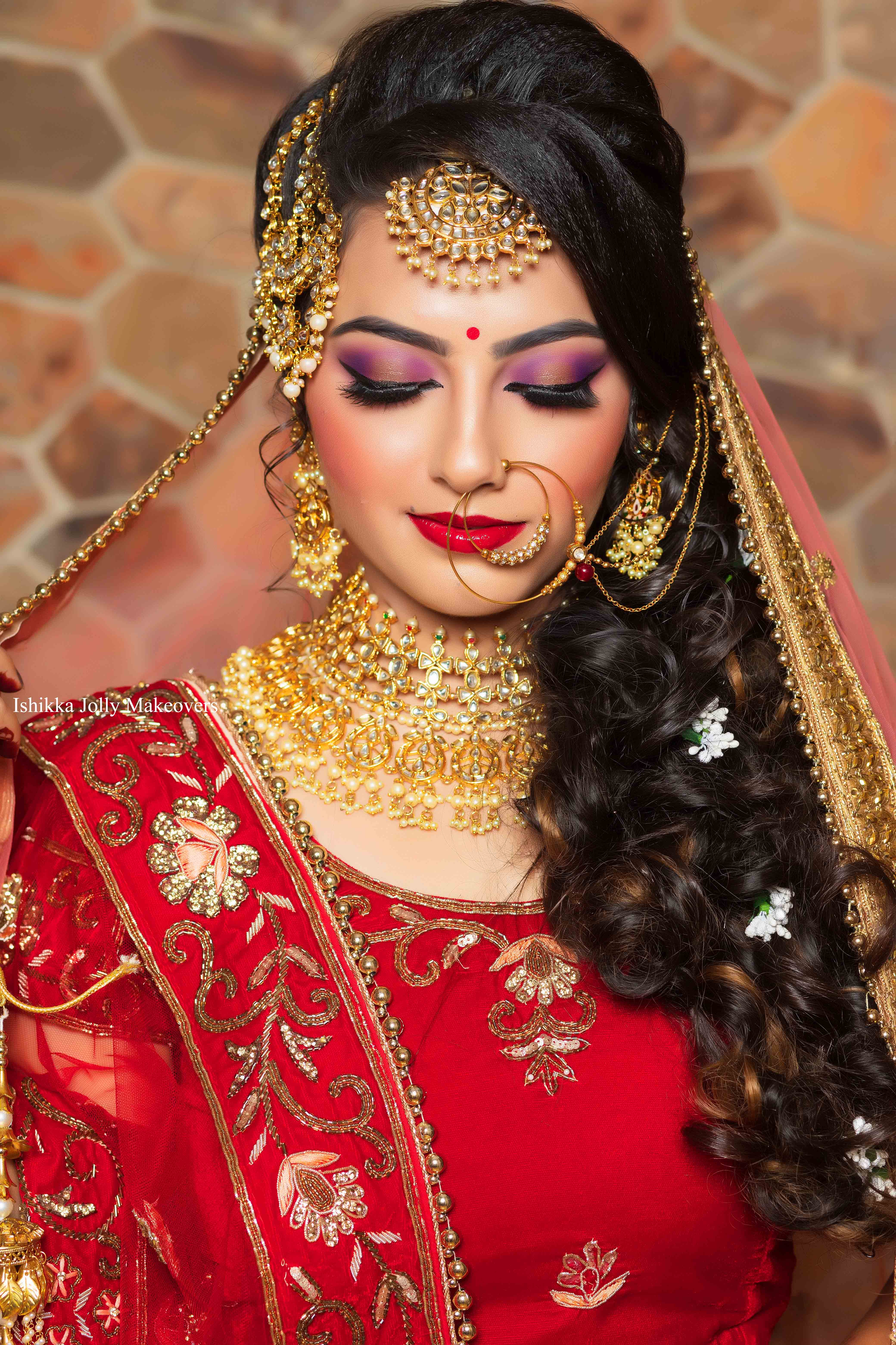 Top Bridal hairstyle for Wedding